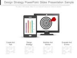 Design Strategy Powerpoint Slides Presentation Sample