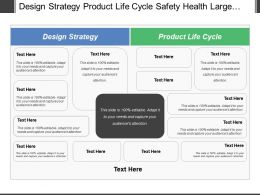 Design Strategy Product Life Cycle Safety Health Large Requirement