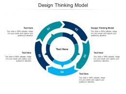 Design Thinking Model Ppt Powerpoint Presentation Slides Cpb
