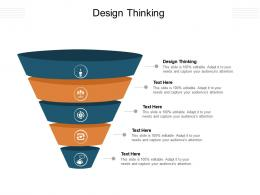 Design Thinking Ppt Powerpoint Presentation Layouts Inspiration Cpb