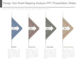 Design Tool Road Mapping Analysis Ppt Presentation Slides