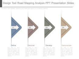 Design Tool Road Mapping Analysis Ppt Presentation Slides