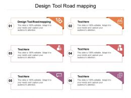 Design Tool Road Mapping Ppt Powerpoint Presentation File Rules Cpb