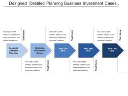 Designed Detailed Planning Business Investment Cases Secure Finding