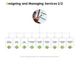 Designing And Managing Services Market Ppt Powerpoint Presentation Inspiration Example Introduction
