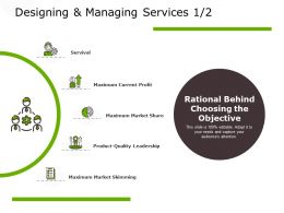 Designing And Managing Services Market Skimming Ppt Powerpoint Presentation Summary Master Slide