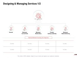 Designing And Managing Services Planning Ppt Powerpoint Presentation Inspiration Graphics