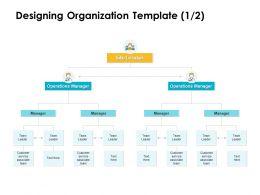 Designing Organization Manager Ppt Powerpoint Presentation Icon