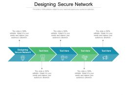 Designing Secure Network Ppt Powerpoint Presentation Model Ideas Cpb
