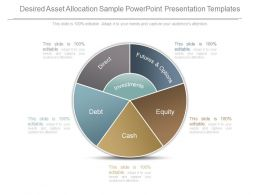 Desired Asset Allocation Sample Powerpoint Presentation Templates
