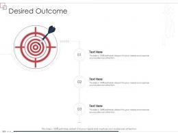 Desired Outcome Enterprise Scheme Administrative Synopsis Ppt Styles Ideas