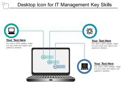 Desktop Icon For It Management Key Skills