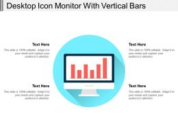 Desktop Icon Monitor With Vertical Bars