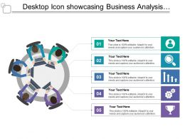 Desktop Icon Showcasing Business Analysis Fundamentals