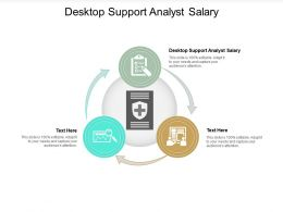 Desktop Support Analyst Salary Ppt Powerpoint Presentation Portfolio Information Cpb