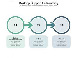 Desktop Support Outsourcing Ppt Powerpoint Presentation Infographics Infographic Template Cpb
