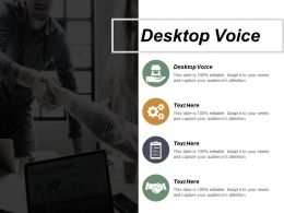 Desktop Voice Ppt Powerpoint Presentation File Clipart Cpb