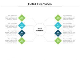 Detail Orientation Ppt Powerpoint Presentation Portfolio Icon Cpb