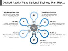 Detailed Activity Plans National Business Plan Risk Management Plan
