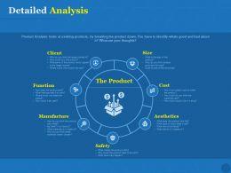 Detailed Analysis Slide Manufacture Ppt Powerpoint Presentation Ideas Show