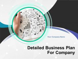Detailed Business Plan For Company Powerpoint Presentation Slides