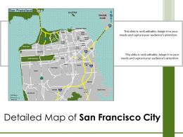 Detailed Map Of San Francisco City
