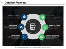 Detailed Planning Implementation Strategy Ppt Powerpoint Presentation Infographic Template Layout