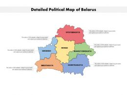 Detailed Political Map Of Belarus