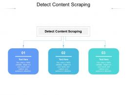 Detect Content Scraping Ppt Powerpoint Presentation Styles Skills Cpb