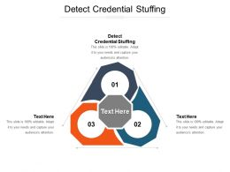 Detect Credential Stuffing Ppt Powerpoint Presentation Gallery File Formats Cpb