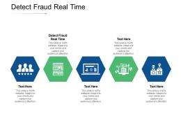 Detect Fraud Real Time Ppt Powerpoint Presentation Show Summary Cpb