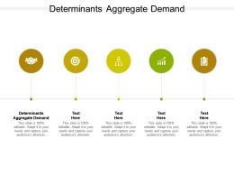 Determinants Aggregate Demand Ppt Powerpoint Presentation Slides Pictures Cpb