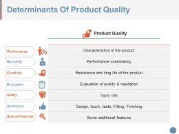 determinants_of_product_quality_ppt_model_Slide01