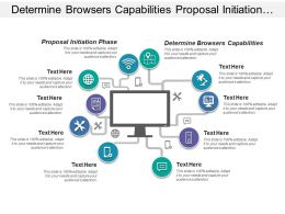 Determine Browsers Capabilities Proposal Initiation Phase Watson Explorer