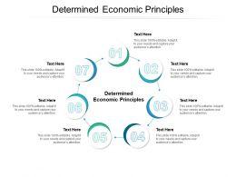Determined Economic Principles Ppt Powerpoint Presentation Outline Portfolio Cpb