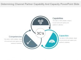 Determining Channel Partner Capability And Capacity Powerpoint Slide