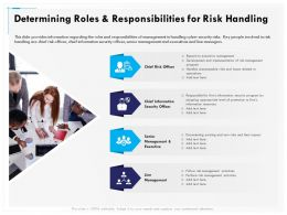 Determining Roles And Responsibilities For Risk Handling Security Ppt File Design
