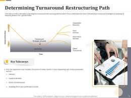 Determining Turnaround Restructuring Path Ppt Gallery Summary