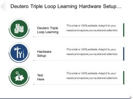 Deutero Triple Loop Learning Hardware Setup Hardware Setup
