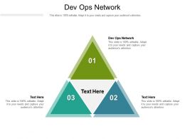 Dev Ops Network Ppt Powerpoint Presentation File Guidelines Cpb
