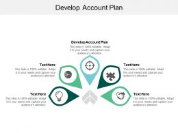 Develop Account Plan Ppt Powerpoint Presentation Ideas Example Cpb
