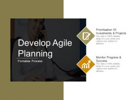 Develop Agile Planning Ppt Slide Show