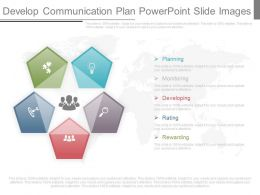 Develop Communication Plan Powerpoint Slide Images