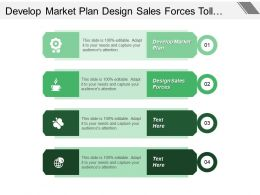 Develop Market Plan Design Sales Forces Toll Tracking