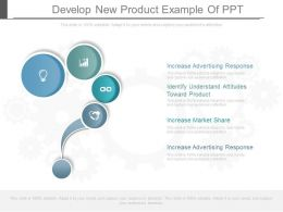 Develop New Product Example Of Ppt