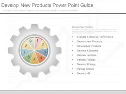 Develop New Products Powerpoint Guide