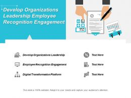 Develop Organizations Leadership Employee Recognition Engagement Digital Transformation Platform Cpb