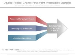 Develop Political Change Powerpoint Presentation Examples