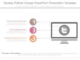 Develop Political Change Powerpoint Presentation Templates