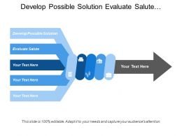 Develop Possible Solution Evaluate Salute Research Problem Unique Methodology